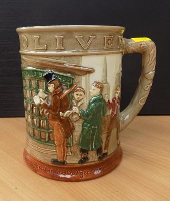 1949 Oliver tankard by Doulton