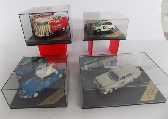4x Collectable diecasts boxed
