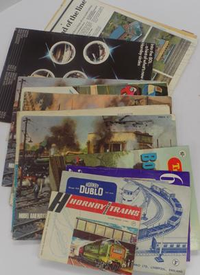 Collection of Hornby & other catalogues