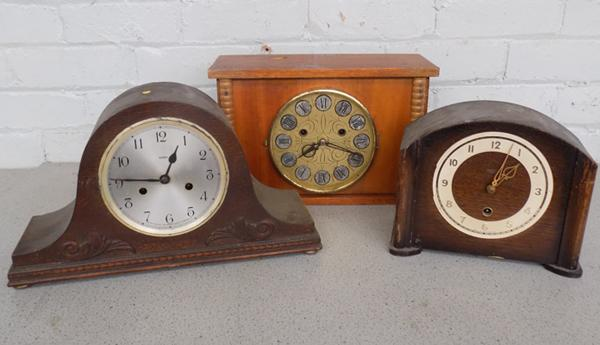 Selection of 3 clocks (as seen)