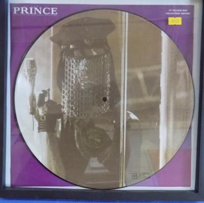 'Prince' picture disc-framed