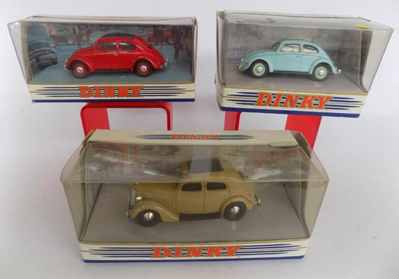3x Boxed diecast Dinkys