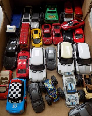 Large box of diecast