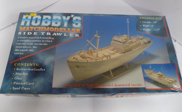 Matchmodeller side trawler, complete in box