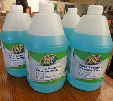 Zep 4x bottles of 5 litre 'All in 1' pressure washer concentrate rrp £16.99 each