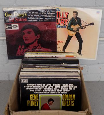 Large box of collectable LP's