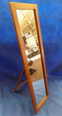 Pine full size free standing mirror