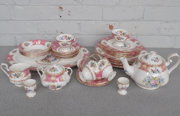 Large collection of Royal Albert Lady Carlyle chinaware