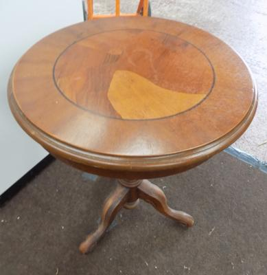 Tri-legged occasional table