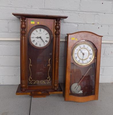 Avalon Westminster chime & H Samuel wall hanging clocks (as seen)