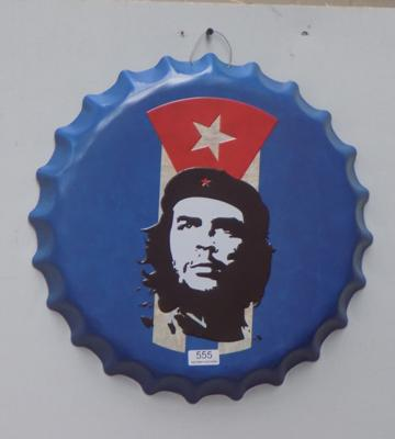 "Che 16"" tin plate bottle top"
