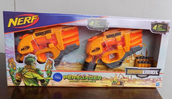 New nerf persuader 2 pack