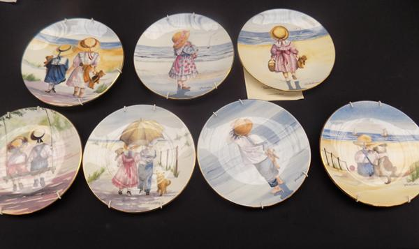Royal Worcester plates (7) ' My Special Friend'