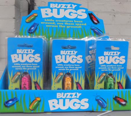 24 New Buzzy bugs