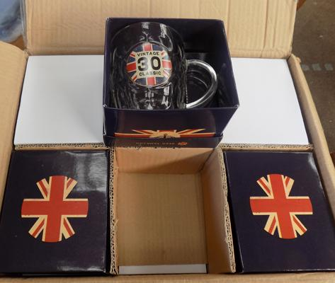 12x New beer tankards