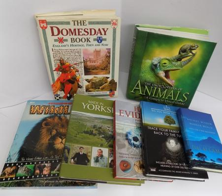 Selection of nature/documentary & Doomsday books