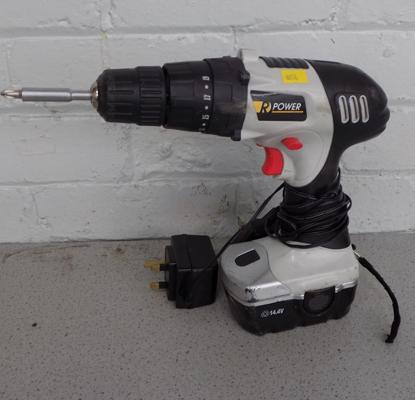 Electric drill with charger