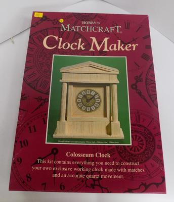 Hobby's Matchcraft Clockmaker - Colosseum clock - complete in box