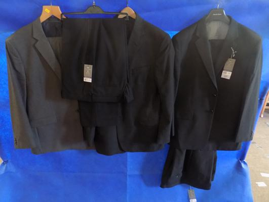 "3x Suits & 1 pair of trousers-2x44"" chest & 1x 50"" chest"