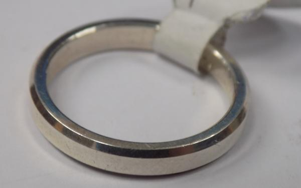 925 silver band - size 2