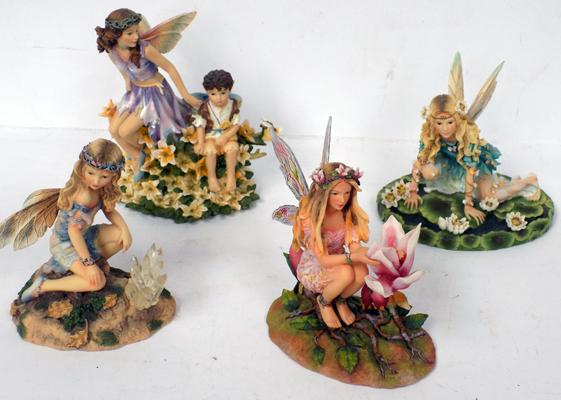 Selection of fairy ornaments