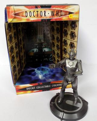 Diecast cyber man-Dr Who