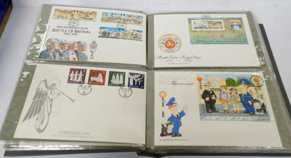 Album of 1st day covers 1970's and 1980's