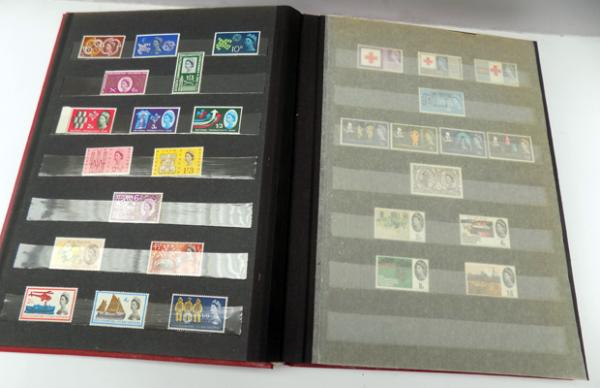 Well presented album of mint British stamps