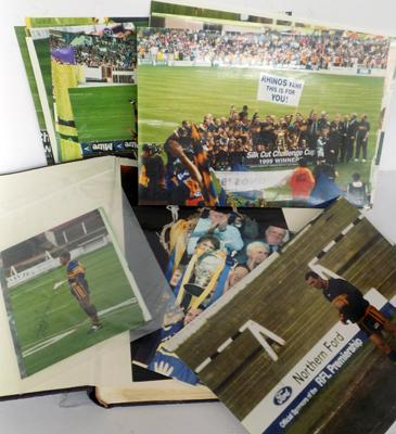 Album of Rugby league photos - signed