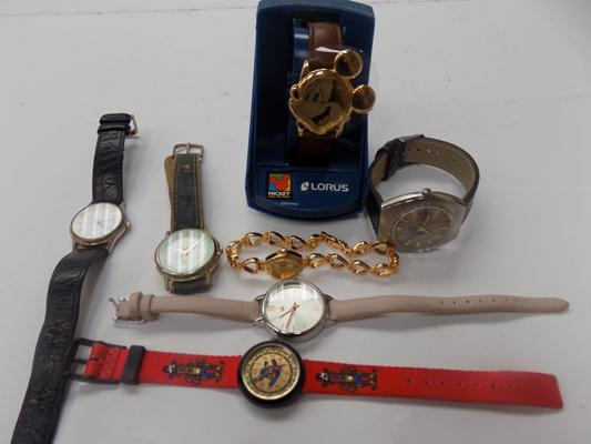 Selection of mixed watches