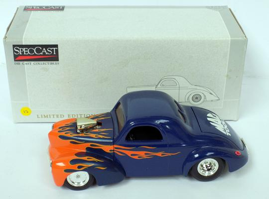 Limited ed. - Liberty classic - 1949 Mercury custom street rod car - official Ford motor co licensed