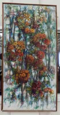"Original painting by Margaret Stephenson - signed on back - approx. 49"" in length"