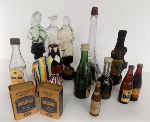 Selection of vintage novelty miniatures
