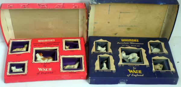 2x boxed sets of Wade Whimsies