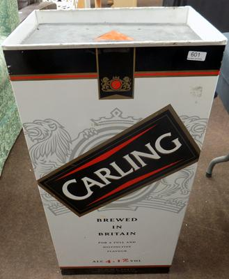 Carling lager shop vending machine