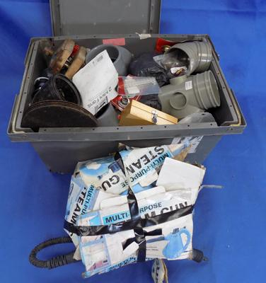 Box of tools, fittings & fixtures