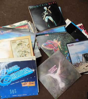 Selection of LPs, incl ELO, AC/DC, Stewart, Al Rush
