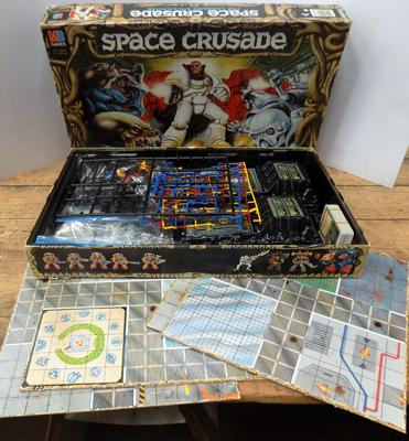 Old Space Crusade board game - complete