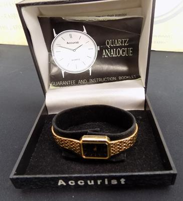 Accurist watch in box