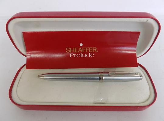 Sheaffer biro pen-stainless steel