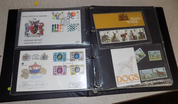 Well filled album of first day covers & presentation pack