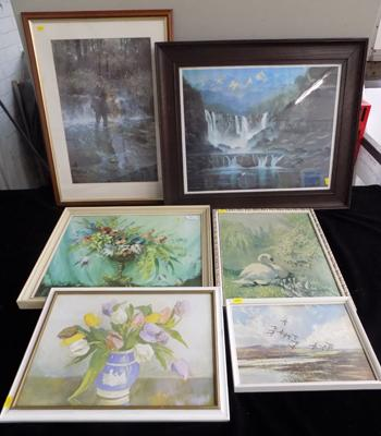 Job lot of various prints inc Andrew Coulman, Coulson, Vernon Ward & Madgwick