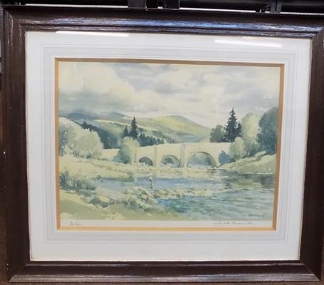 Jack Merriot signed print