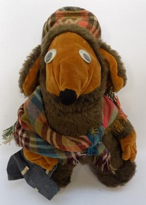 Vintage Womble soft toy, possibly handmade