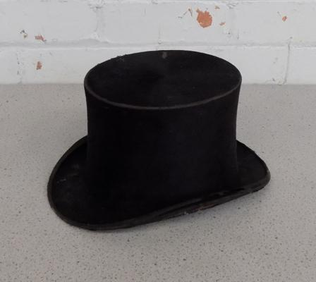 Top hat-very worn