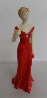 Diana figure Princess of Wales - Royal Worcester