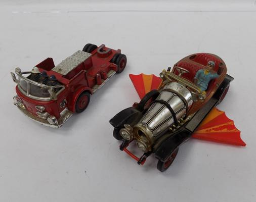 2x Corgi toy cars-Chitty Chitty Bang Bang