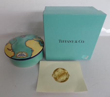 Tiffany and Co LTD edition trinket bowl and lid