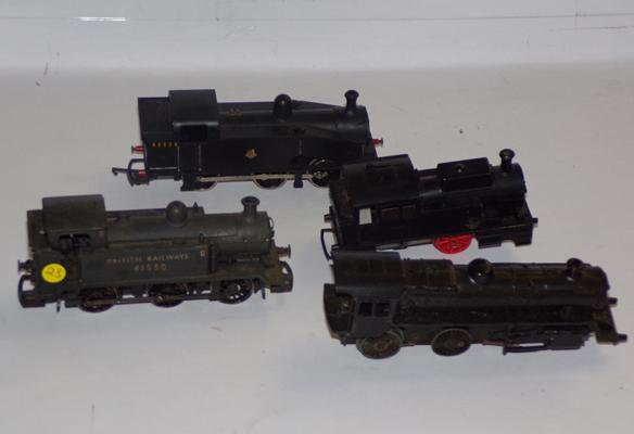 Four 00 Guage locomotives