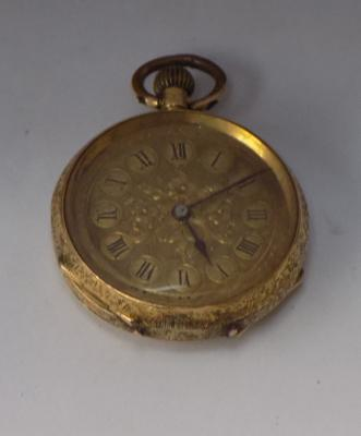 18ct gold pocket watch